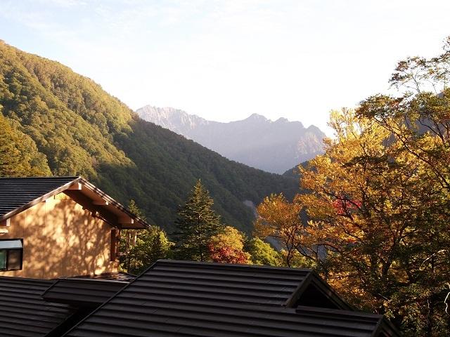 秋の中の湯温泉旅館
