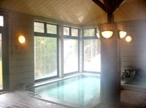 中の湯温泉旅館、温泉大浴場(女性内風呂)