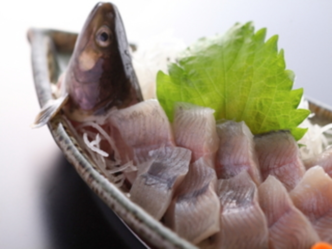 岩魚の生き造り