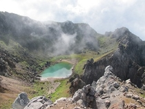 焼岳 カルデラ湖(フリーライター高橋庄太郎様よりご提供頂いた写真です。)