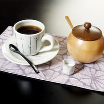 *【コーヒー】挽きたてコーヒーの、豊かな香りをお楽しみ下さい。
