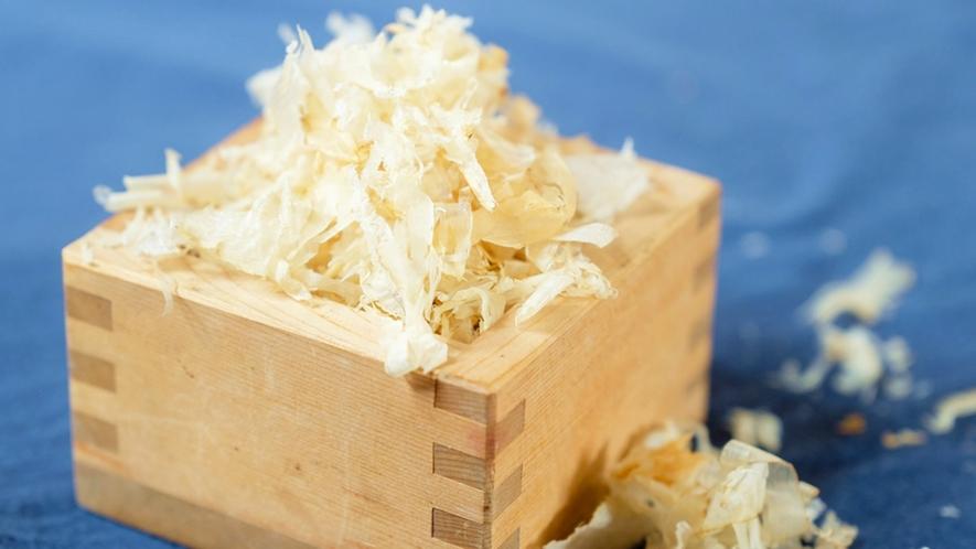 *川島旅館オリジナル商品『Butter Field』/北海道産食材を練り込んでいます(鮭ぶし)