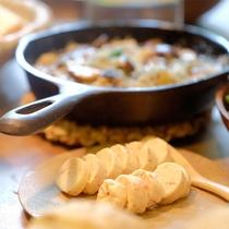 *川島旅館オリジナル商品『Butter Field』/様々なお料理とのアレンジをお楽しみください。