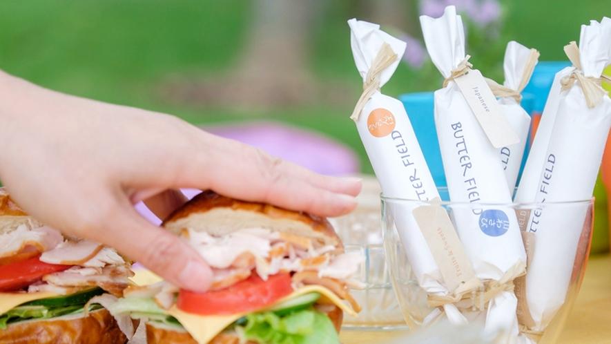 *川島旅館オリジナル商品『Butter Field』/洋食にも和食にも合う様々なフレーバーが魅力。