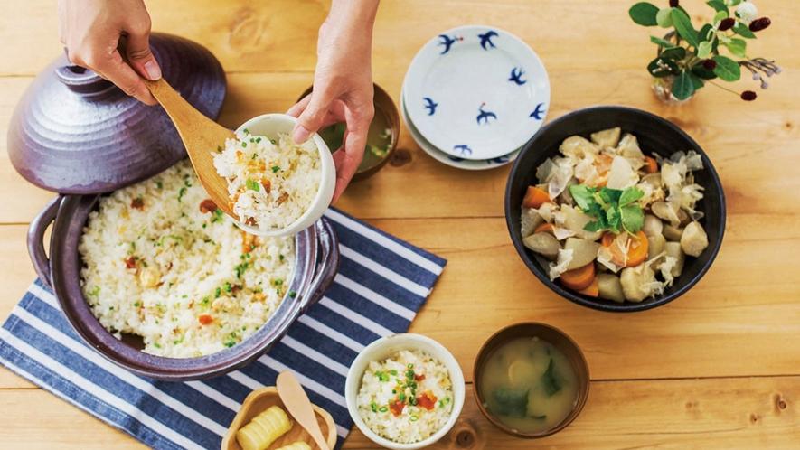 *川島旅館オリジナル商品『Butter Field』/利尻うにを使ったうにバターをご飯に混ぜて。
