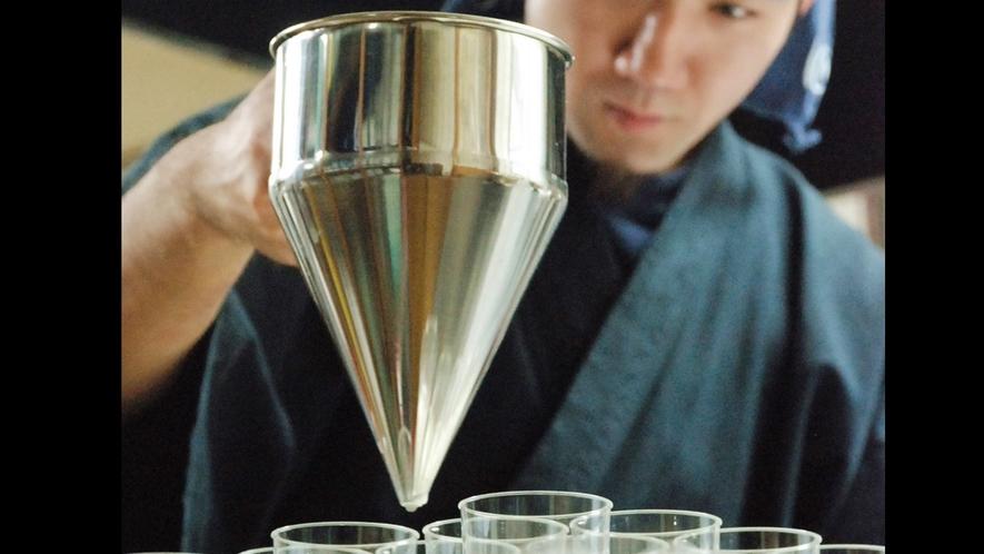 *川島旅館オリジナル商品『湯あがり温泉プリン』/ひとつひとつ手作りしています。