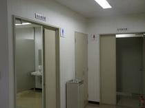 スポーツアリーナ更衣室