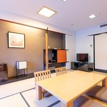 和洋室ファミリールーム50平米(箱根側)
