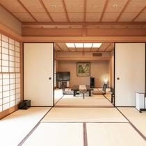 【客室露天風呂付】和室特別室74平米(富士山側)