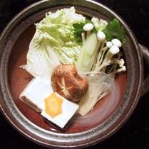 料理の一例