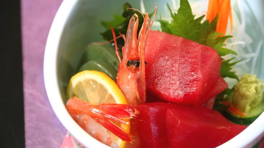和歌山の海の幸を盛り込んだお刺身盛