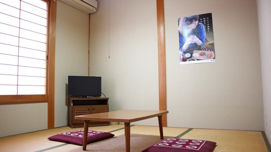 *【和室4.5畳】やさしく暖かい雰囲気の純和室♪ビジネスや一人旅、帰省などにご利用ください。