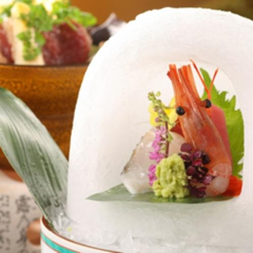 温泉会席(花渕)イメージ料理 ※季節により異なります。