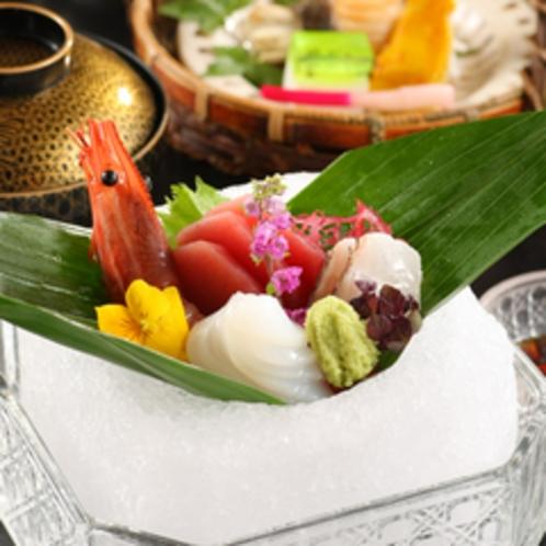 温泉会席(江合)イメージ料理 ※季節により異なります。