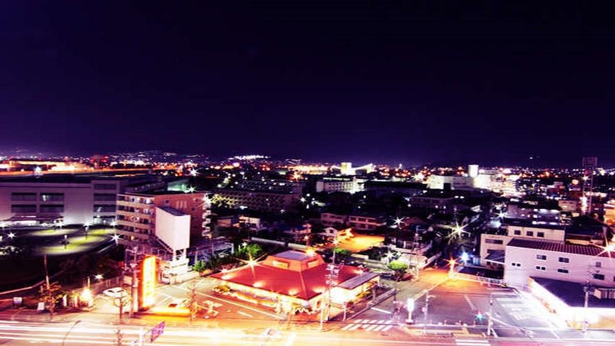 【夜景】ホテルから見た大阪市内夜景!絶景!