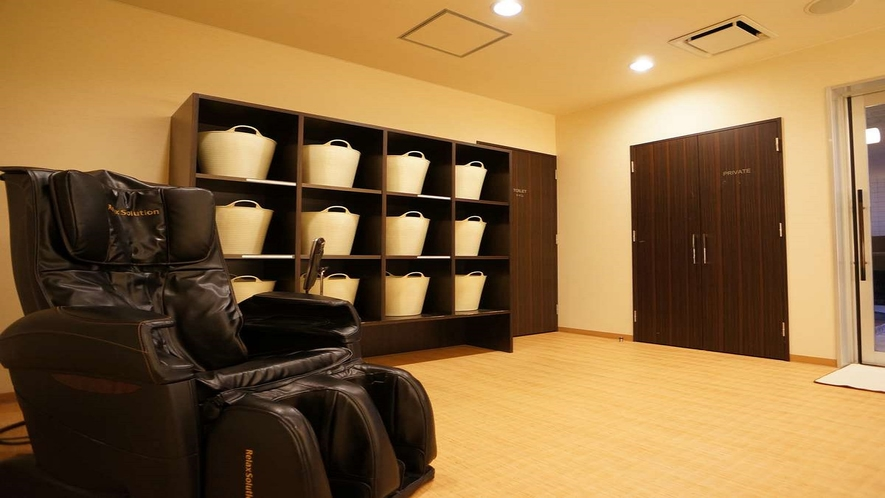 男性大浴場 マッサージチェア(無料利用)