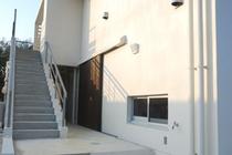 2階への外階段