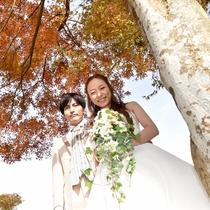 *当館にて結婚式を行いました。ウェディングプランについてはお問い合わせください。