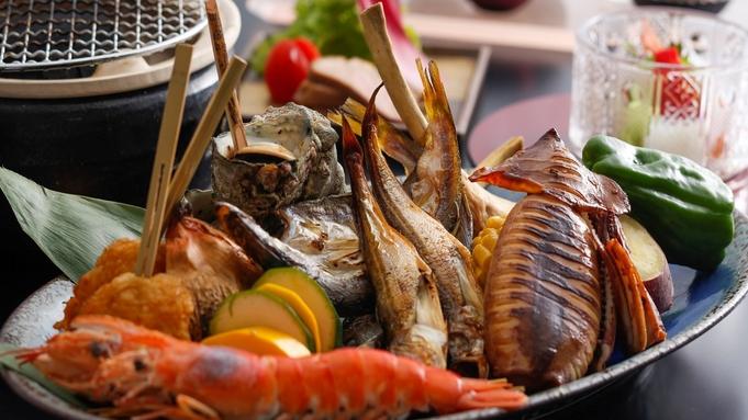 【飲み放題&小学生花火付き】夏休み満喫★ずわい蟹と海鮮炭火&但馬牛蒸篭プラン《2食付き》