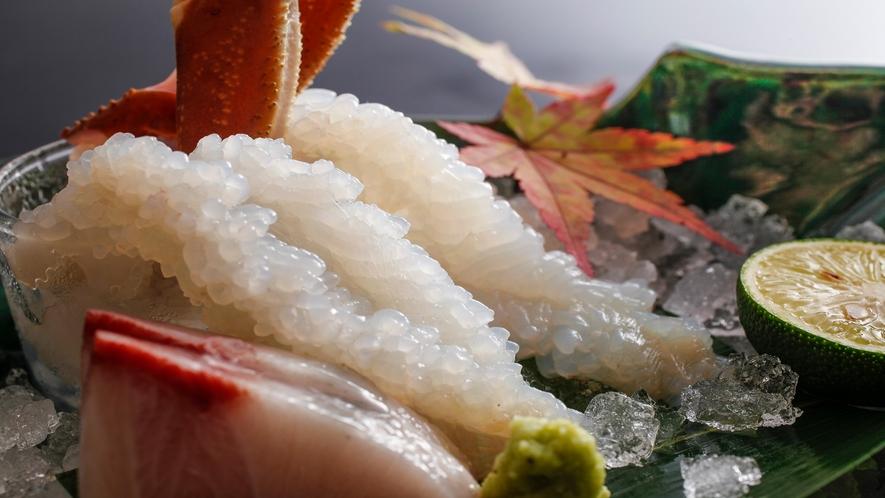 プリプリの蟹刺し イメージ