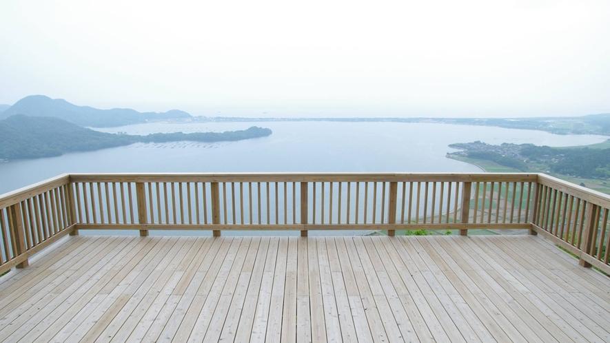 久美浜 かぶと山公園展望台