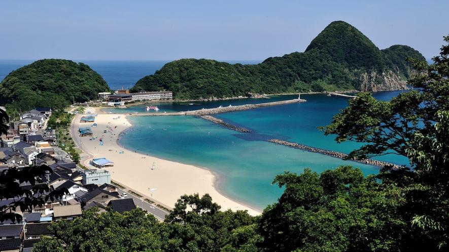 竹野浜(たけのはま)海水浴場(兵庫県)