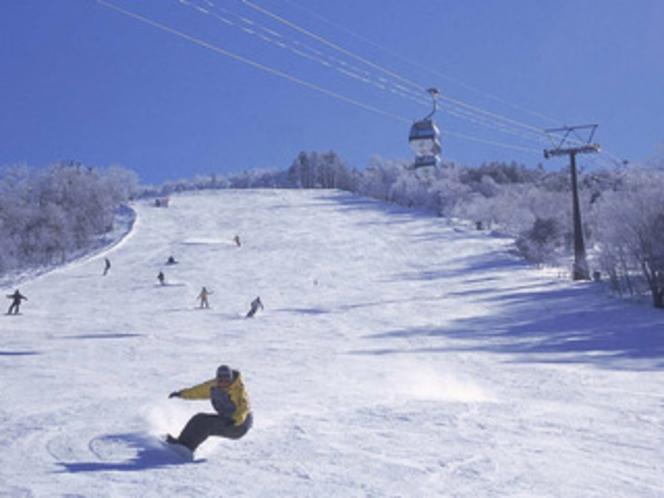 近隣スキー場「ハンターマウンテン塩原」イメージ