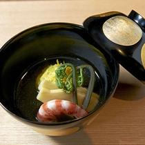 夕食 懐石料理イメージ/吸物