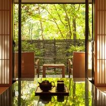 蔵王の森で癒しのひとときを・・・ ※客室一例