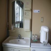 客室の洗面所