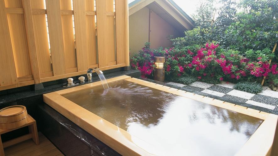 藤の棟露天風呂付Bタイプ スイート和室