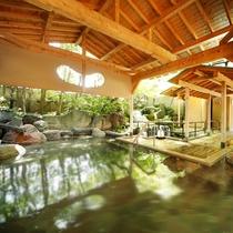 姉妹館 瑠璃光の露天風呂