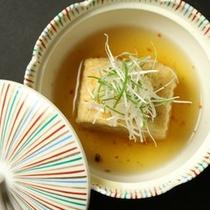 ☆料理_夕食_こも豆腐