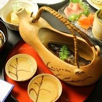 ☆料理_別注_岩魚の骨酒.