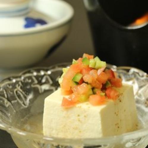 ☆料理_朝食_一例 豆腐サラダ