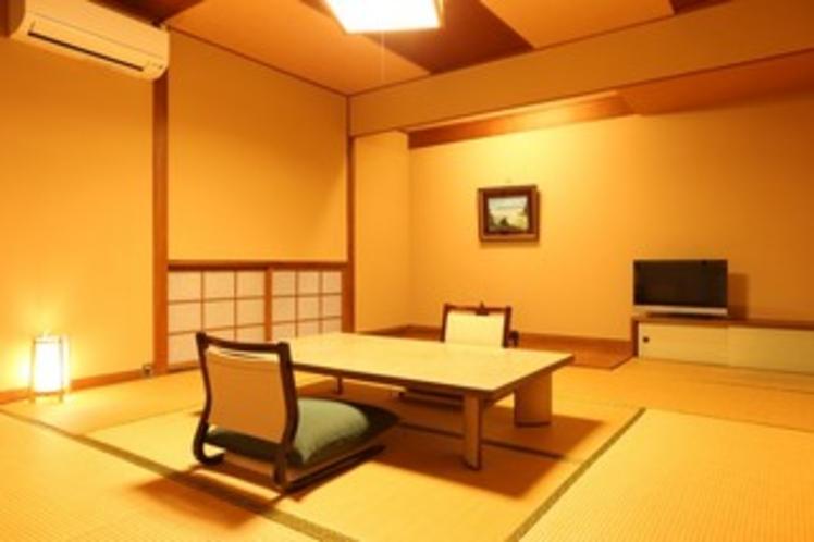 和室8畳(庭園の眺望なし)の一例