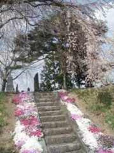 阿曽沼公歴代碑