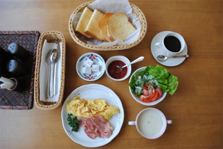 朝食例(洋食)