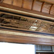 【お食事処】天井の建築デザインー 梅 ー