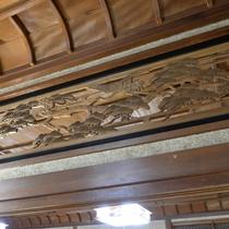 【お食事処】天井の建築デザインー 松 ー