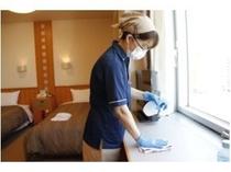 清掃時の消毒【コロナウィルス感染対策】
