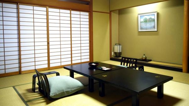 禁煙部屋/和室12.5畳/眺望<臨めず>