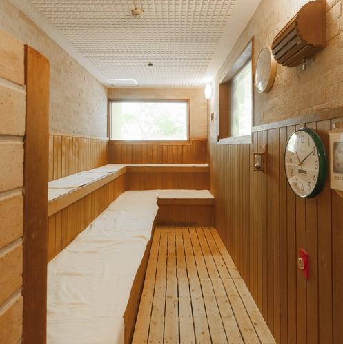 ドライサウナ<檜の湯>設定温度80度