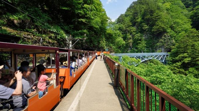 ■渓谷☆散策■大人気の『黒部トロッコ列車』チケットを手配 〜新緑を間近で感じる森林浴〜