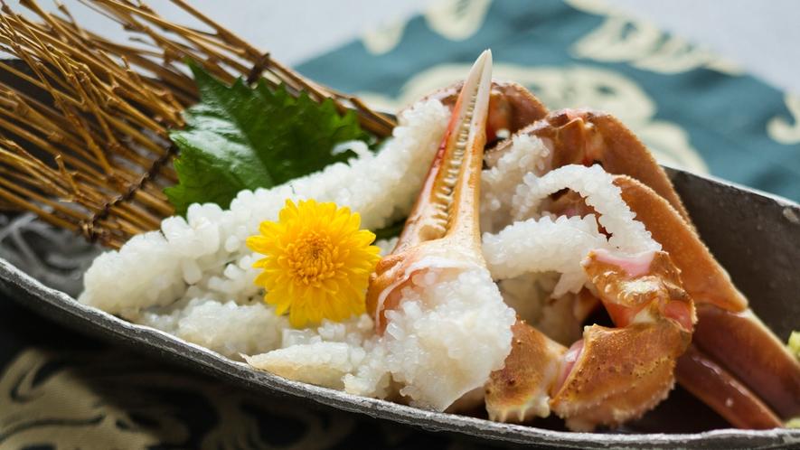 ■蟹刺し■