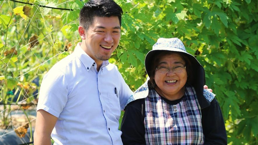 【新鮮な野菜】地元/新温泉町の契約農家さんが愛情たっぷりに育ててくれています