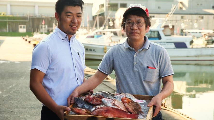 【日本海の海の幸】兵庫県/但馬地区の浜坂漁港より多くの海の幸を仕入れています