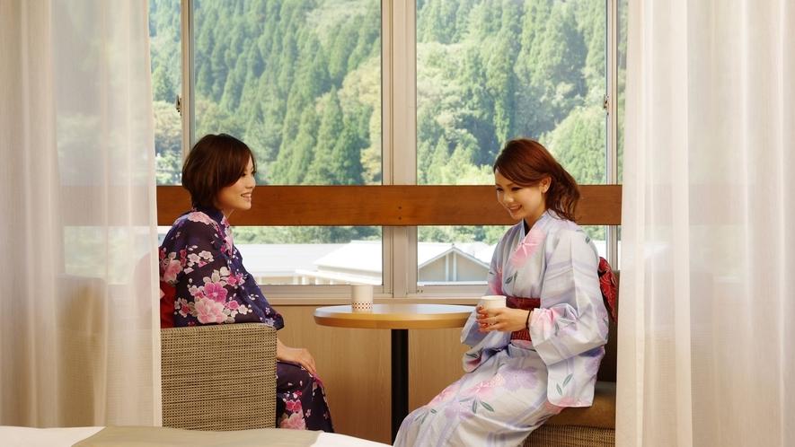 和モダンツイン8畳【34㎡】(5~7階)あるいは  洋室ツイン8畳【34㎡】(7階)