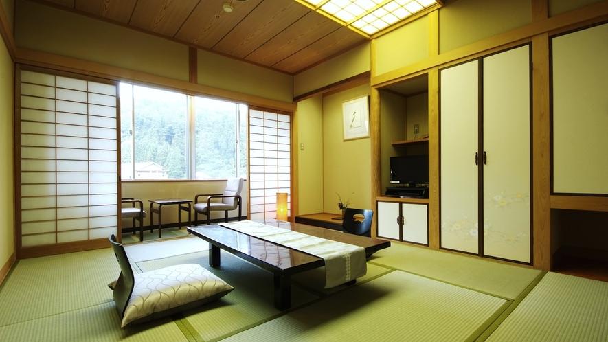 本館和室10畳【34㎡】/フロント・ロビーと同じフロアのため、リーズナブルな価格に設定しております
