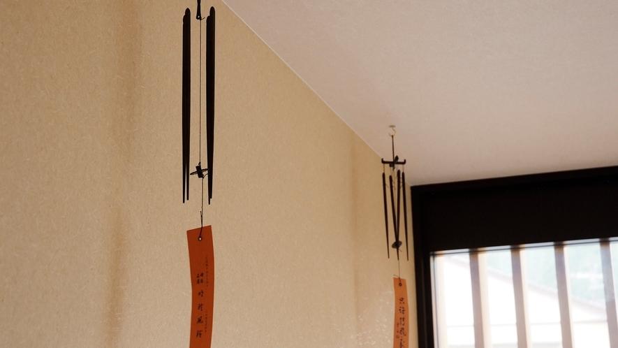【明石の明珍火箸】火箸(ひばし)を使用した風鈴の音色をお愉しみださい(専用橋)